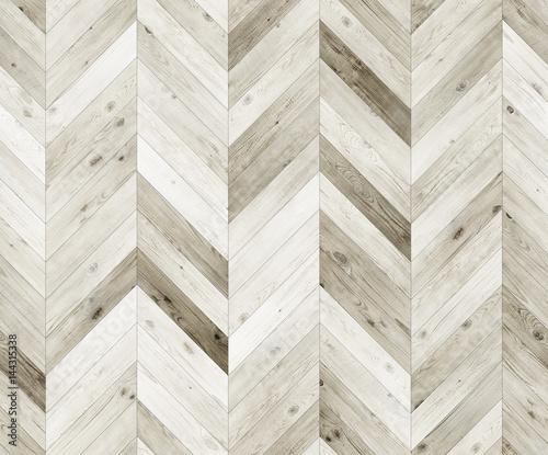 Chevron Bleached Natural Parquet Seamless Floor Texture Stock Photo