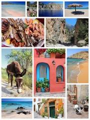 Crete collage