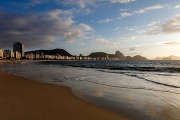 Rio de Janeiro, Copacabana beach