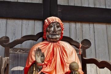 日本の木造の仏像