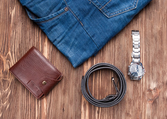 Jeans and accesories