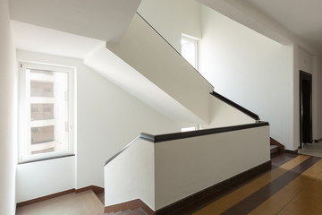 Big staircase, interior.