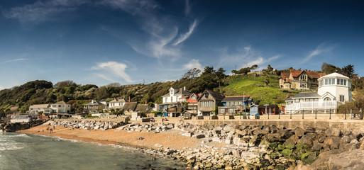 Steephill Cove, Ventnor, Isle of Wight. A classic English seaside view
