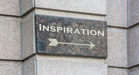 Schild 204 - Inspiration