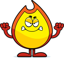 Angry Cartoon Fire