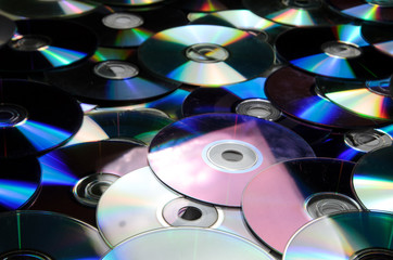 old cd compact disc