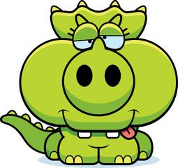 Cartoon Goofy Triceratops