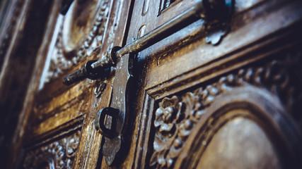 Vintage Iron Door Knocker.