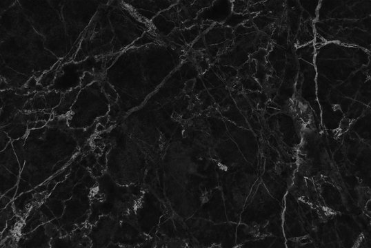 Black marble natural pattern for background, Pattern with high resolution, Detailed of real genuine marble from nature.