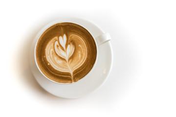 Hot Latte Coffee.