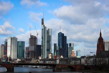 Skyscrapers of Frankfurt, Germany