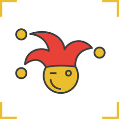 1st April fool color icon