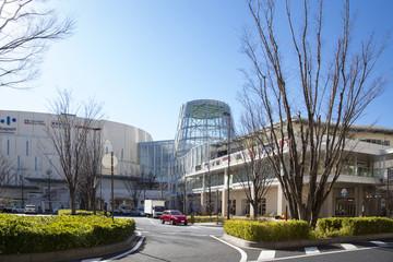 柏の葉キャンパス駅 駅前の風景