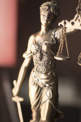Law office legal goddess