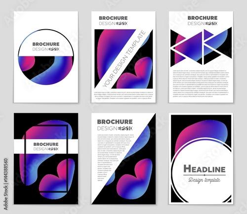 85 x 14 brochure template