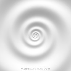 Fibonacci spiral white abstract background
