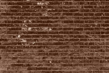 Grungy Brown Brick Wall Background