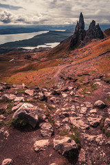 Old Man of Storr, Scotland in summer