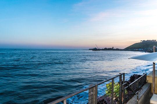 A Malibu, CA sunset