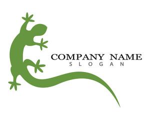 Iguana logo template