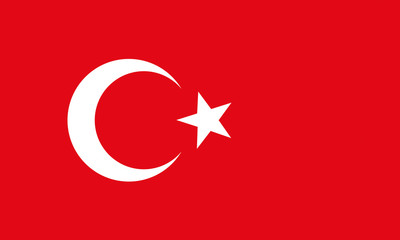 background of turkey flag