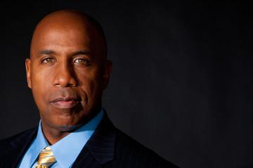 Portrait of an African American businessman.