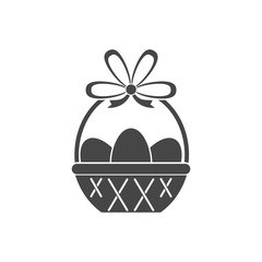 Vector Easter Basket - Illustration