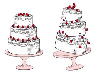 ケーキ イラスト