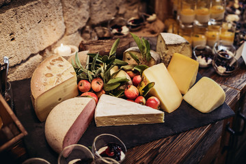 Rustic Cheeseplate