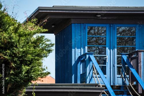 quot c est une maison bleue andernos bassin d arcachon quot stock photo and royalty free images on