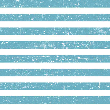Seamless marine background. Blue grunge lines pattern