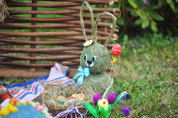 April 06, 2017 Exhibition of Easter eggs in Uzhgorod in Ukraine