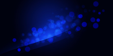 Dark Blue Abstract background concept