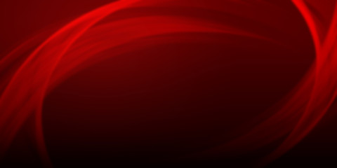 Red Abstract curve lines background wallpaper