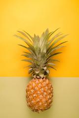 Fruit place for inscription, Pineapple Thai