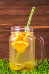 Fruit and juice. Detox Concept