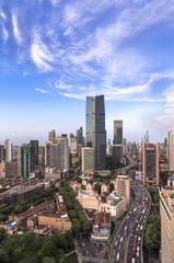 Heavy traffic in big city