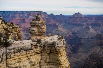Grand Canyon with Colorado River in Grand Canyon National Park, South Rim Grand Canyon, Arizona, Usa
