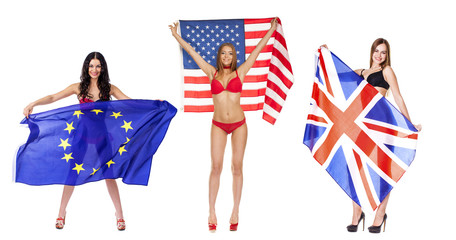 Eternal allies, Americans, British, and the European Union