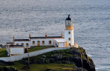 Lighthouse at Neist Point on Skye Scotland