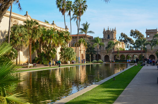 Architectural Styles in Balboa Park, San Diego, California