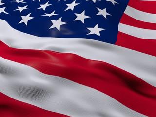 Flag of United States of America, USA