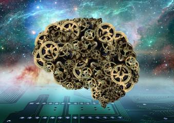 Concepção de um cérebro mecânico