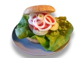 vegetarischer Burger