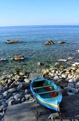 Chianalea Mare Roccioso con barca