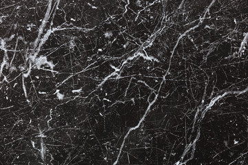 black ceramic tile texture with scratch for background and design