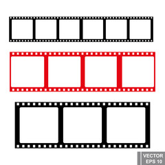 Film. Cinema and photo. To manifest. The icon. Isolated on white background.