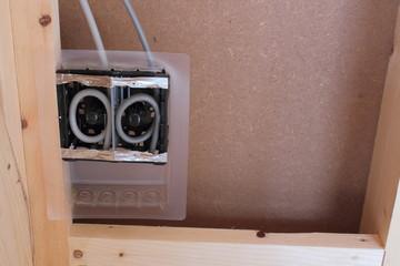 木造住宅の電気工事