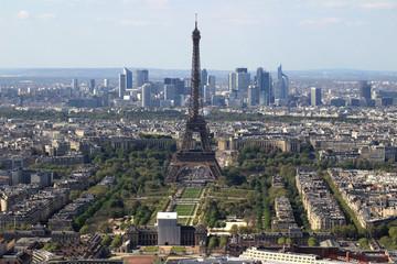 Paris, vu du ciel - Tour Eiffel - La Défense