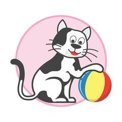 pet toys accessories. vector illustration